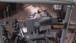 RG BBT SG military mounted gun