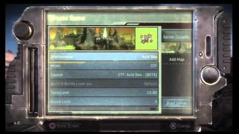 Starhawk Private beta Main Screen