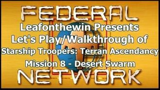 Walkthrough - Mission 8- Desert Swarm