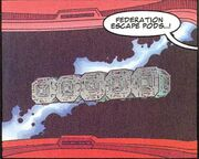 Federation escape pods Marvel Comics