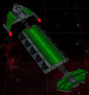 Klingon mining freighter