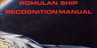 Romulan Ship Recognition Manual