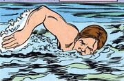 Swimming DC Comics