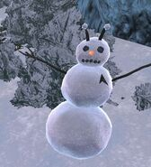 Andorian snowman