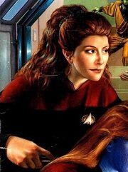 Deanna Troi, cadet