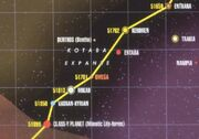Kotaba Expanse map