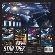 Ships of the Line 2014 back cover