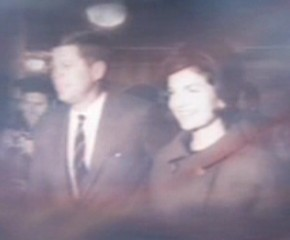 File:John F. Kennedy with Jacqueline Kennedy.jpg