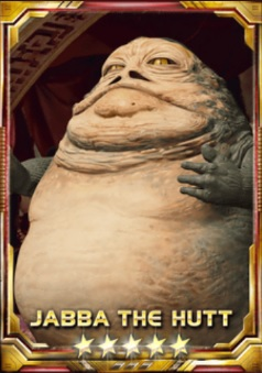 Jabba The Hutt 5S Small