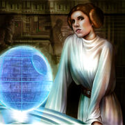 Leia Organa by Monte Moore
