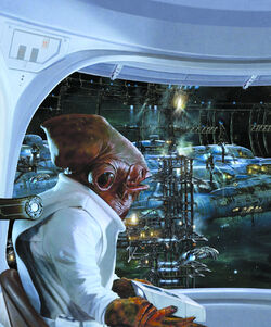 Ackbar at Shipyards