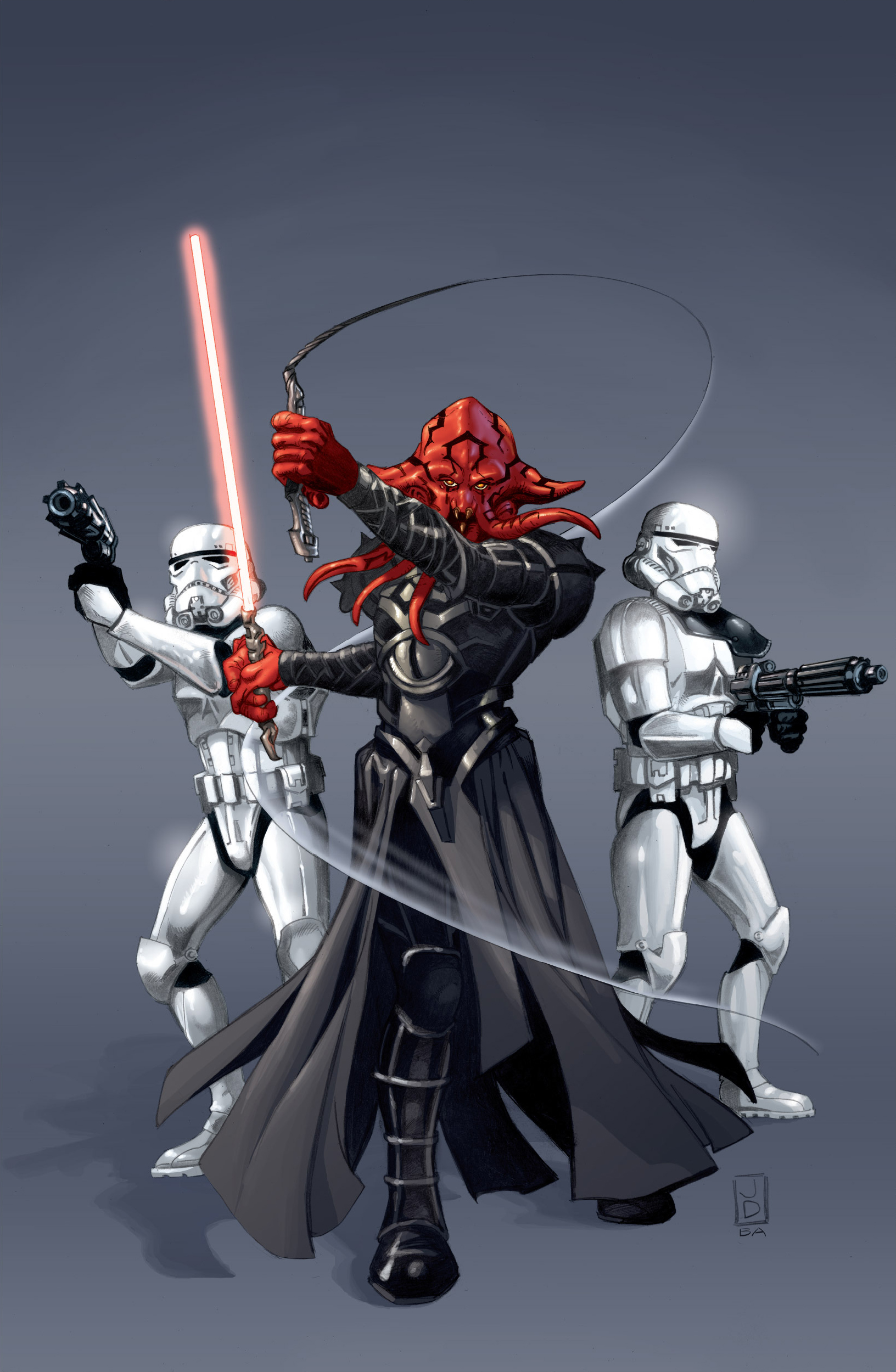 501st Stormtrooper Legion Sides With Emperor Fel Against The Sith