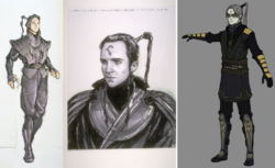 Krismo and ObiWan Concept Art