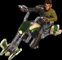 Kanan Speeder Bike Fathead