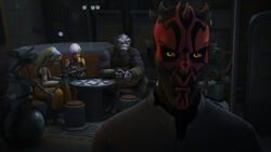 Maul and the Ghost crew captives