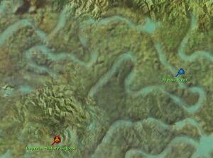 Jeassa River map