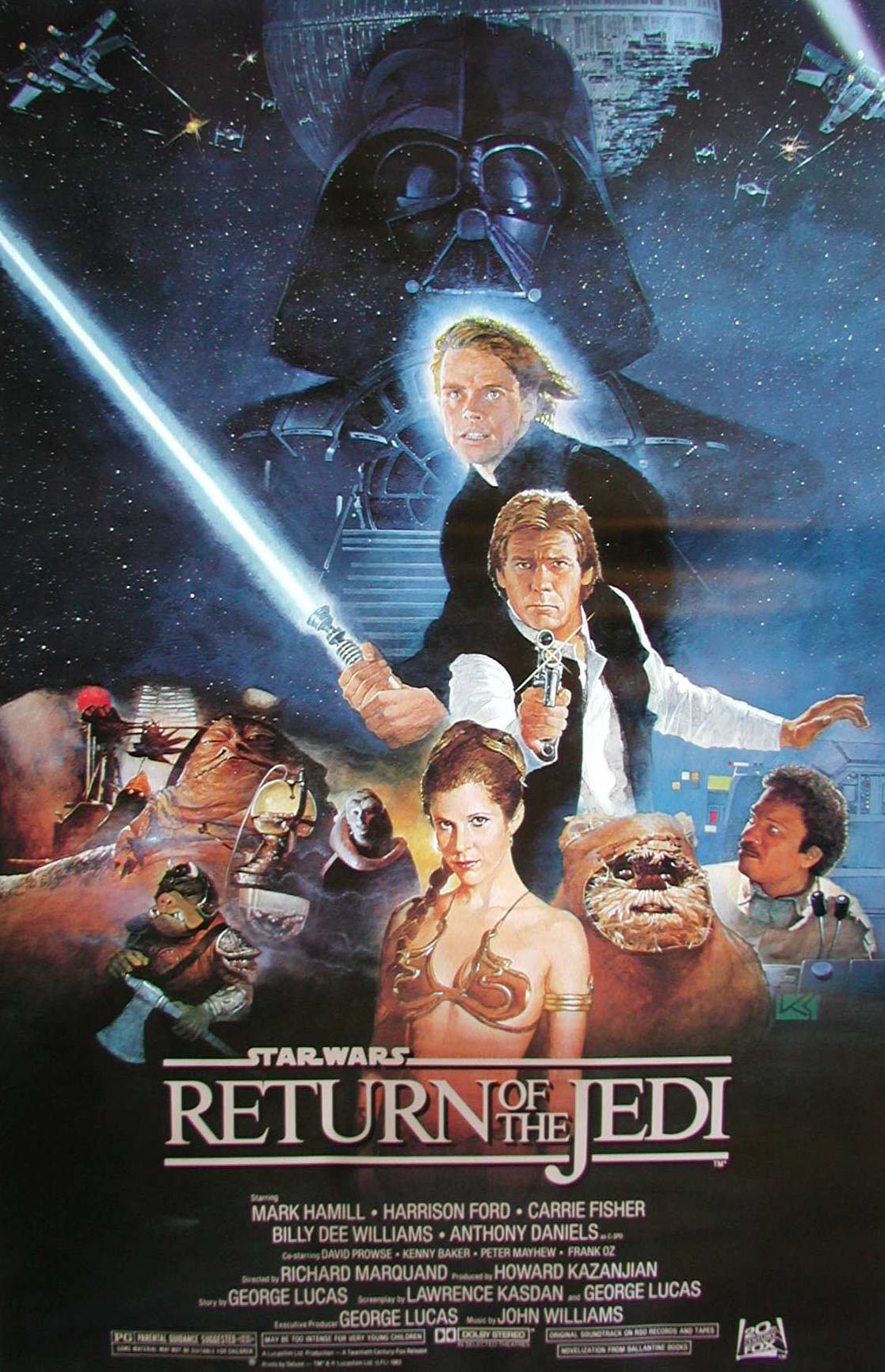 Image result for Return of the jedi poster