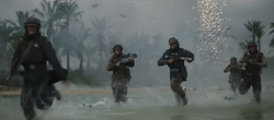 Rebel Marines on Scarif