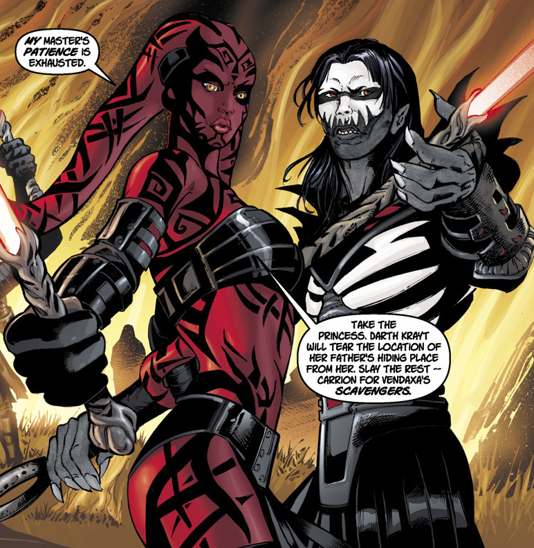 Darth Krayt vs Darth Talon Darth Talon And Darth Nihl