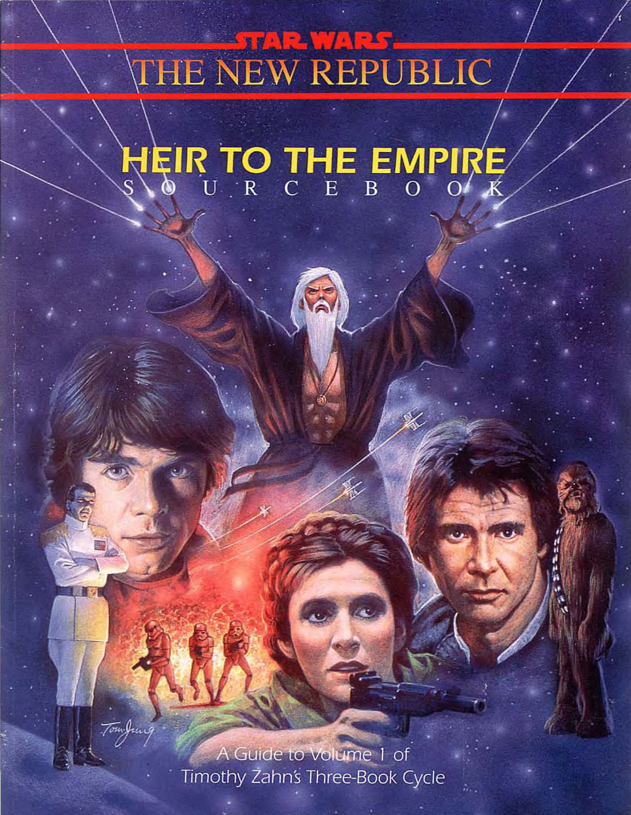 Heir To The Empire Sourcebook Wookieepedia Fandom Powered By Wikia
