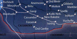 Cassander region