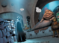 Vader concludes negotiations with Jabba