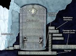 Ilum Jedi Temple layout FDNP