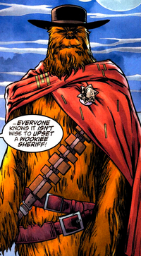 Chewie the Sheriff