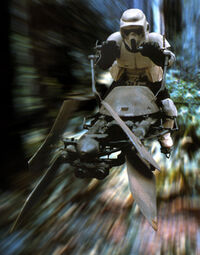 Scouttrooper speed