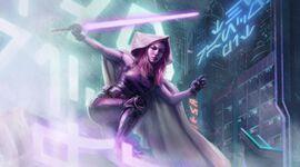 Mara Jade TCG Balance of the Force