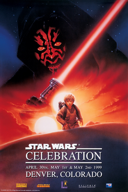 Star Wars Celebration program cover