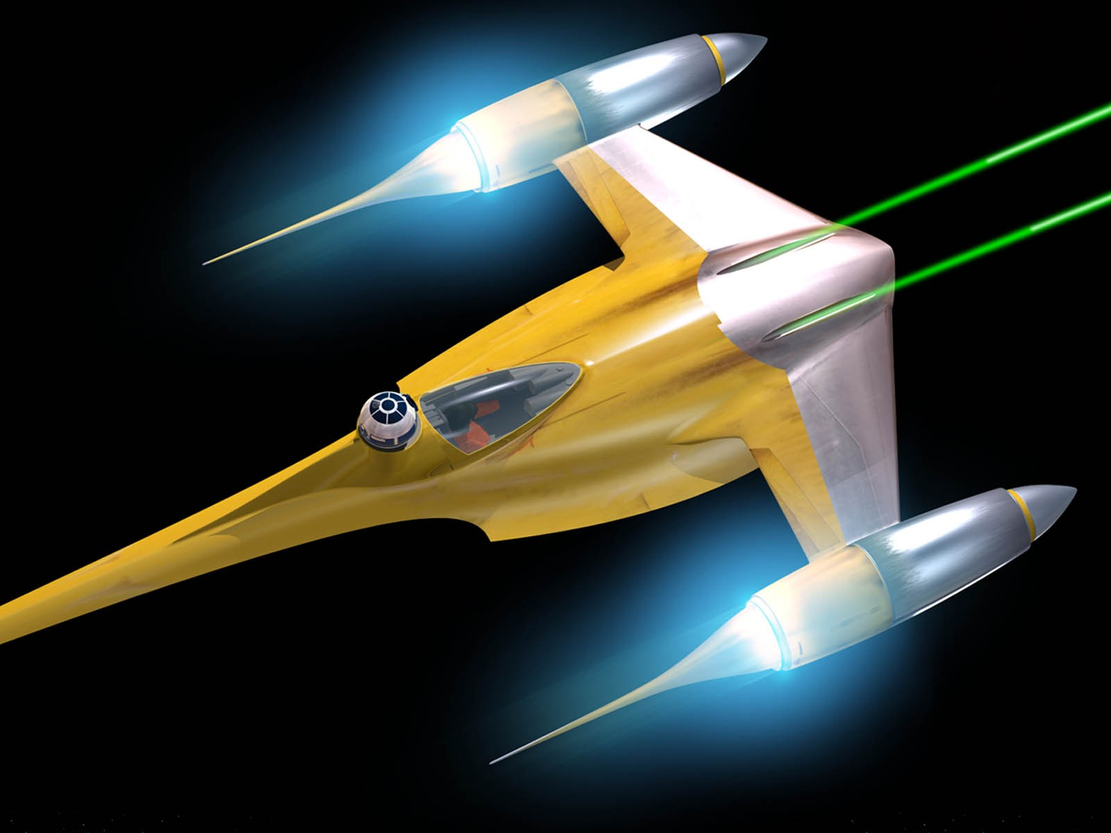 Starship Modeler - Naboo Starfighter Review