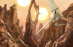 Tatooine stoneneedle