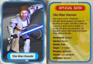 Obi-Wan Kenobi Clone Card