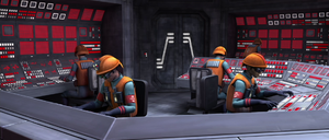 Coruscant power generator engineers