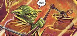 Yoda with probe arm