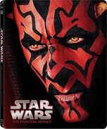 Star Wars Episode I The Phantom Menace Blu-ray Steelbook