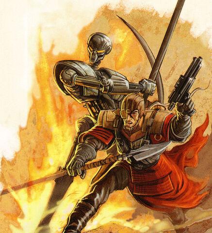 File:Krath warrior and droid.jpg
