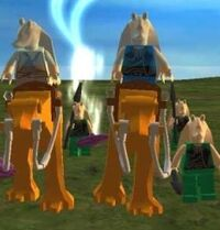 LEGO-Gungans