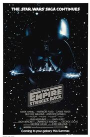 Empire strikes back poster vader