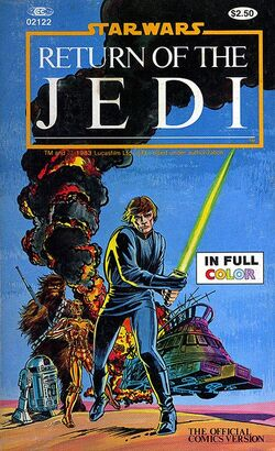 MARVEL STAR WARS ILLUSTRATED ROTJ