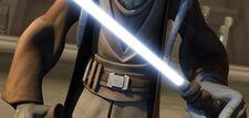 Tera Sinube's lightsaber