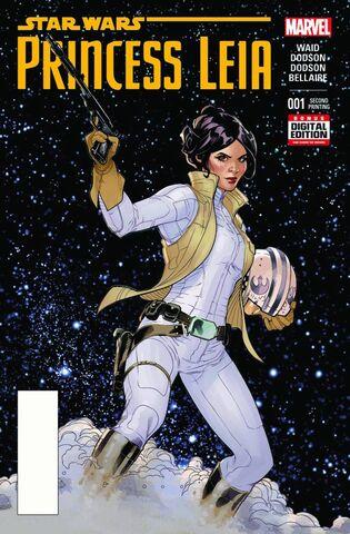 File:Star Wars Princess Leia Vol 1 1 2nd Printing Variant.jpg