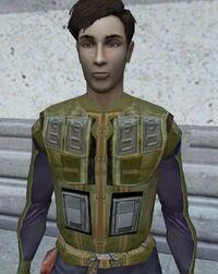 Zabrak combat suit