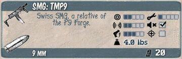 TMP9 Infocard