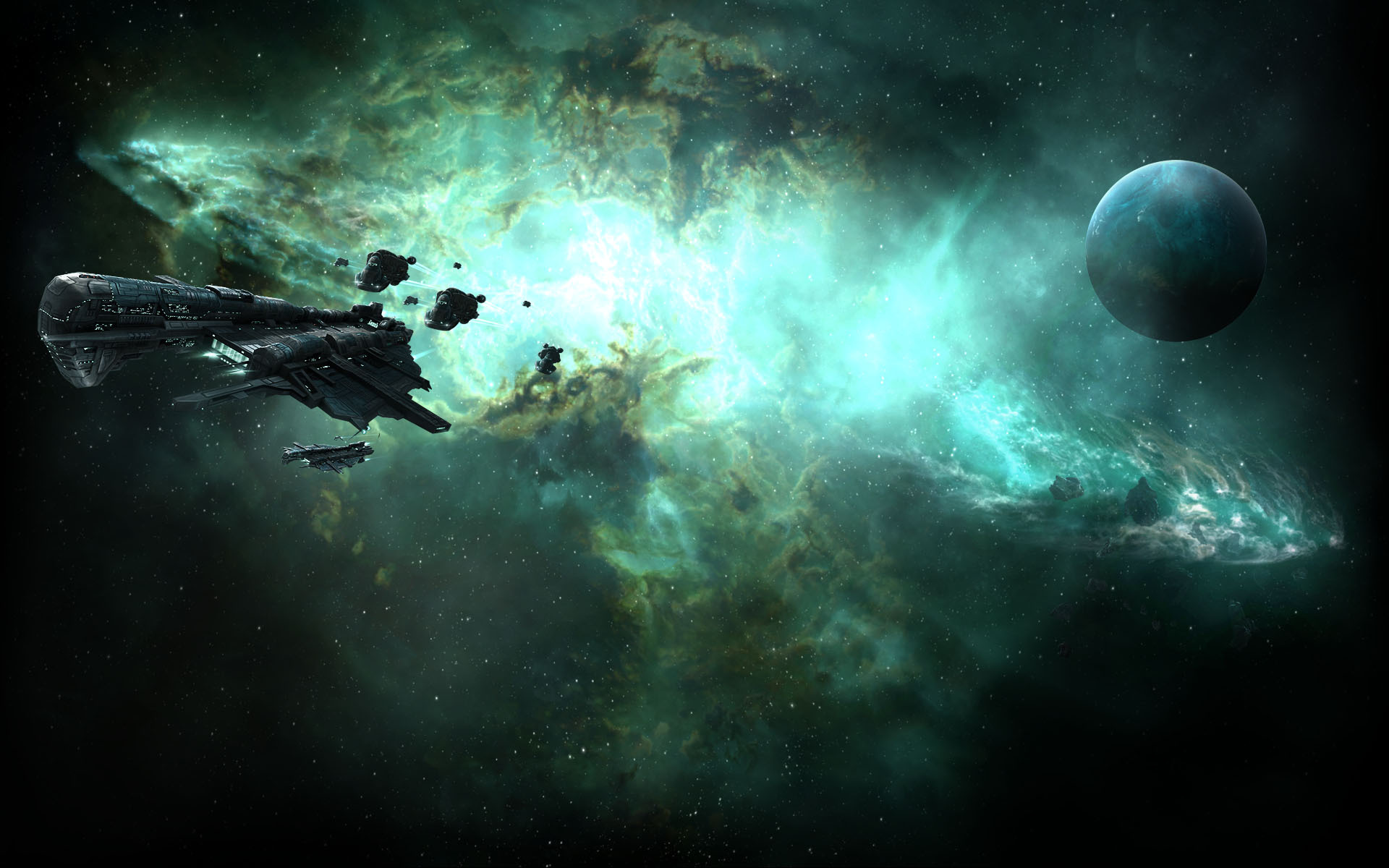 Image - EVE Online Background Gallente Federation.jpg | Steam ...