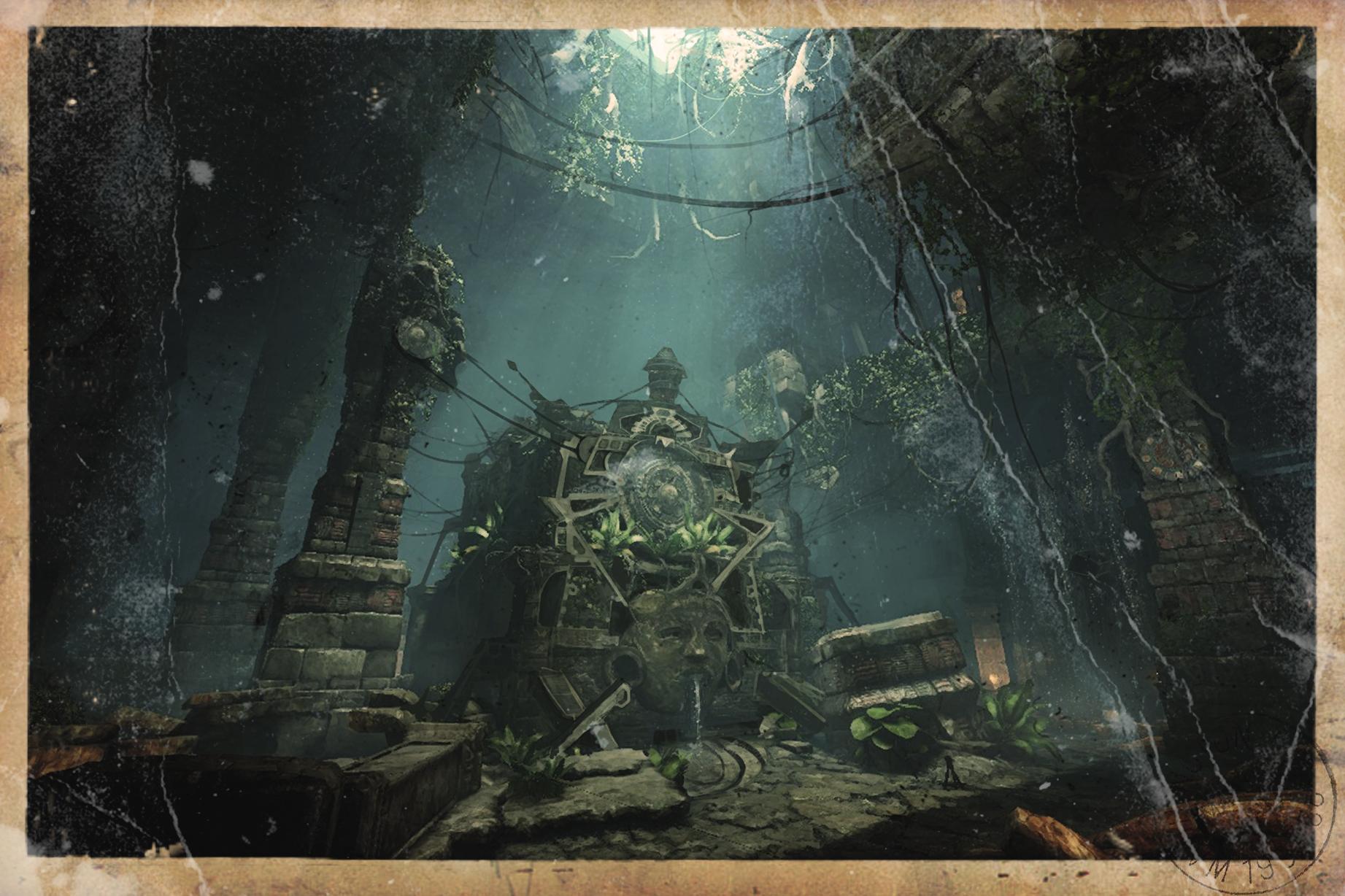 deadfall adventures background mayan - photo #3