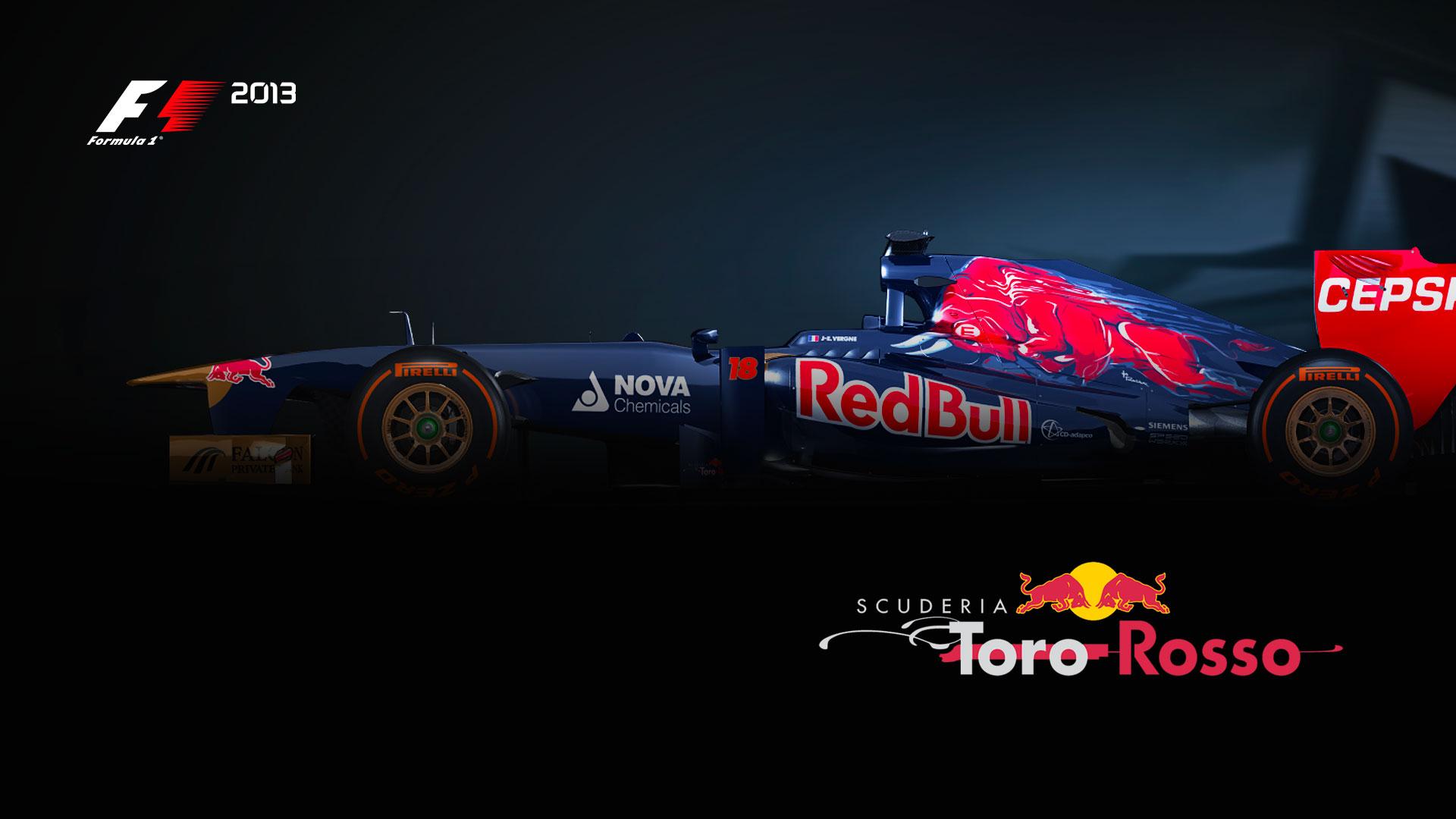 F1 2014 game wallpaper