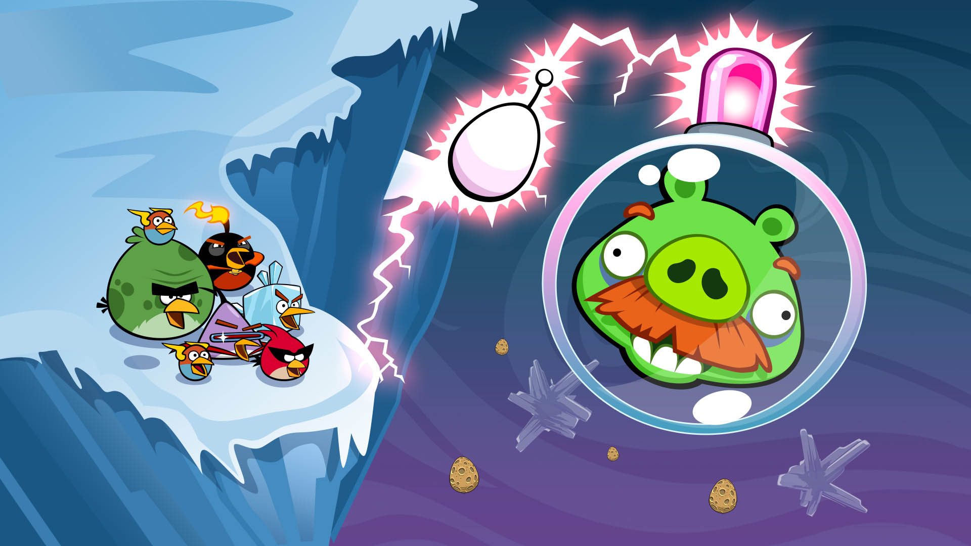 angry birds space lunar launcher - photo #15