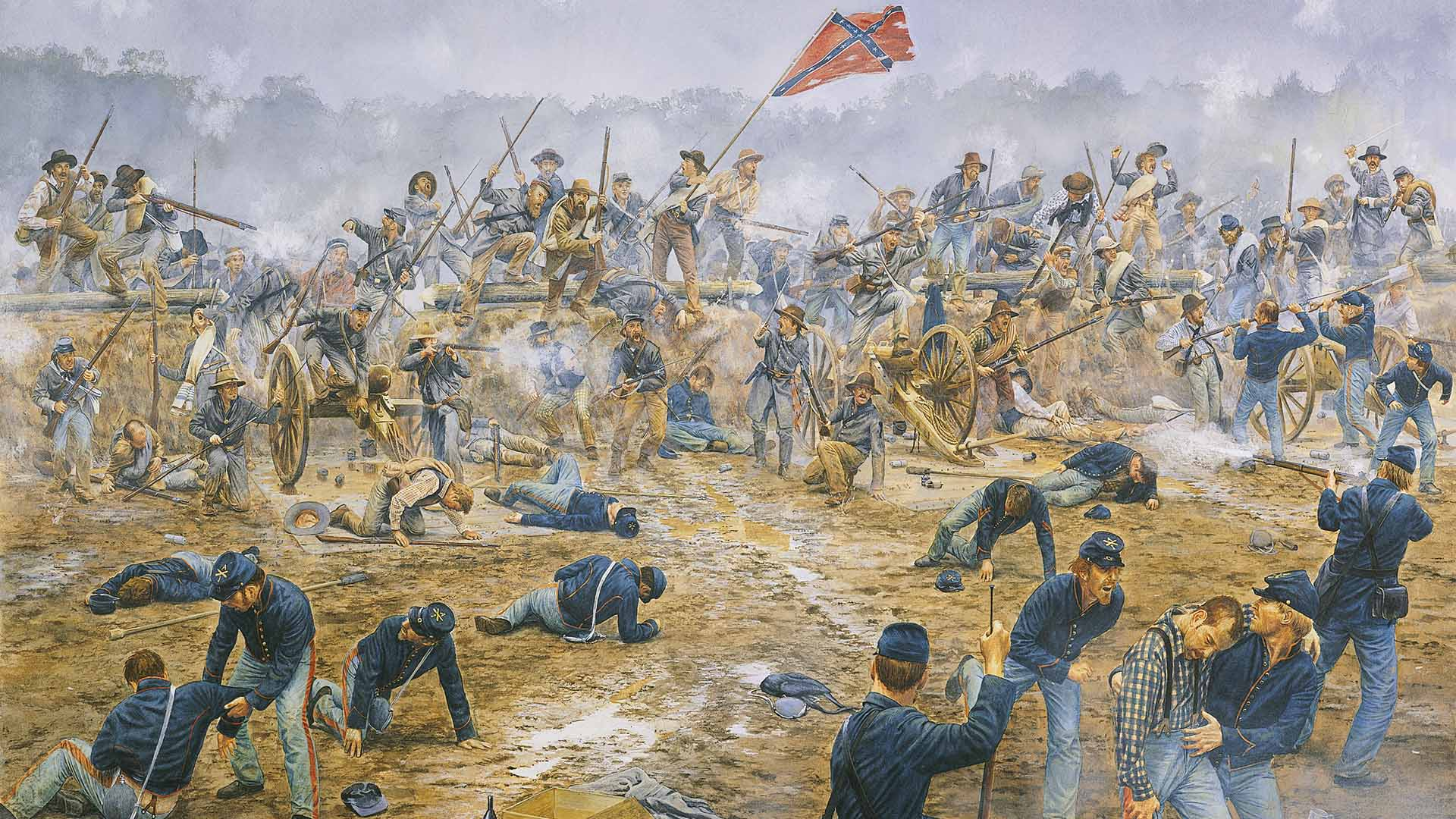civil war battlefield wallpaper-#16